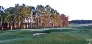 Budowa pola golfowego / galeria pól golfowych - greeny dołków na polu golfowym Mazury Golf.