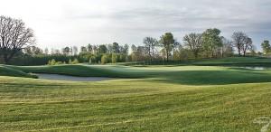 Budowa pola golfowego / galeria pól golfowych - green dołka golfowego na polu golfowym Mazury Golf.